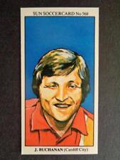 The Sun Soccercards 1978-79 - John Buchanan - Cardiff City #568