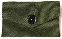 WWII US M1942 FIRST AID FIELD CARRY POUCH-TRANSITIONAL