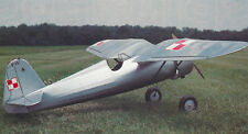 1/8 Scale Polish Pulawski PZL P-11c Plans, Templates and Instructions 53ws