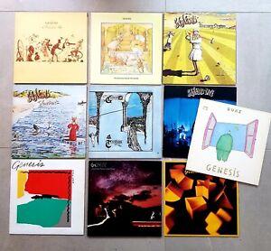 GENESIS Collection 10 x VINYL LP NURSERY CRYME FOXTROT TRESPASS LIVE JOB LOT EX