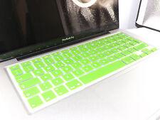 SILIKON Abdeckung Tastatur SCHUTZ MacBook Air Pro QWERTZ Grün NEU