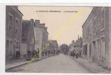 CPA 41330 LA CHAPELLE VENDOMOISE La Grande Rue très animé  Edit COUDET
