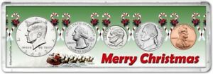 Merry Christmas Coin Gift Set for the year 2003
