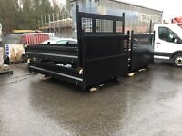 Ford transit brand new tipper tipping body mk8 cpd body steel fitting complete
