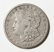 ONE DOLLAR 1921 MORGAN ARGENT 900% COIN  SILVER PIECE