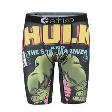 New Ethika Hulk Printing Men Underwear Sports Shorts Boxer Pant Us Size S/M/L/Xl