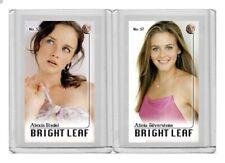 Alicia Silverstone rare MH Bright Leaf #'d 1/3 Tobacco card no. 57