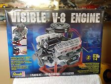 REVELL 1/4 Scale Model Motor Kit Visible V-8 Engine # 85-8883 SEALED