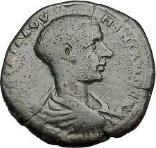 DIADUMENIAN 218AD son of Macrinus Nicopolis ad Istrum HERMES Roman Coin i50992