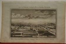 LONDON ENGLAND 1782 GEORGE HENRY  MILLAR ANTIQUE ORIGINAL COPPER ENGRAVED VIEW