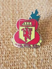 Man Utd Poppy Badge