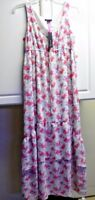 I Love Ronson Sz S Womens Floral Summer Dress Sleeveless New