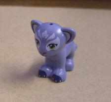 Lego kleiner Löwe grau - Löwenbaby - ( Lion Club Tiger Tiere Wüste Persia ) Neu