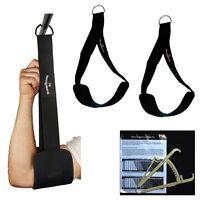Bauchmuskelschlaufen, Gut-Blaster-Slings Schwarz + Körperfettmesszange NEU
