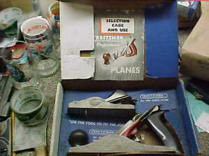 "Craftsman Professional Plane Twin-Pac Block Plane & 9"" Bench Plane Sold as Found"