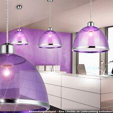 rétro LUMINAIRE PLAFOND LA VIE ess Chambre Table Lampe suspendue mauve éclairage