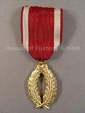 Belgien: Goldene Palme zum belgischen Kronen Orden , Bronze vergoldet, 87807