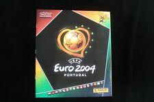 Panini Euro 2004 Complete Set Leeralbum + Bildersatz + Tüte