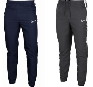 Nike Tracksuit Bottoms Joggers Zip Pockets Pants Trousers Nike Academy Dri Fit