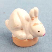 VINTAGE POLLY POCKET PET LAND 2000 Bunny Rabbit FIGURE MATTEL 2000