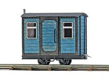 OO/HO Wagons - Guards wagon Blue - Busch 12232 P3