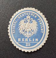 Siegelmarke Vignette Kaiserl. Deutsches Postamt Berlin 25 (7680-4)