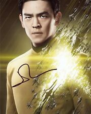 "~~ JOHN CHO Authentic Hand-Signed ""STAR TREK - Sulu"" 8x10 Photo ~~"