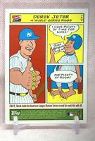 2003 Topps Bazooka Comics Strip #6 Derek Jeter New York Yankees Baseball