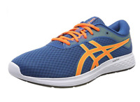 Asics Gel Patriot 11 Blue Orange 1011A568 401 Lace Up Running Sports Trainers