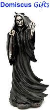 """8"""" New! Grim Reaper Gothic Skulls Skeleton Scythe Death Figurine Home Decor Gift"""
