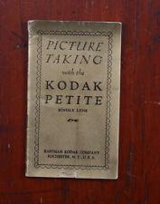KODAK PETITE INSTRUCTION BOOK/cks/210422