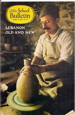 national geographic-SCHOOL BULLETIN-apr 27,1970-LEBANON OLD AND NEW.