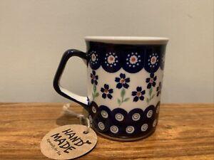 Mug 0.25L Handmade Polish pottery Boleslawiec