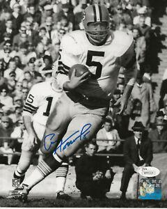 Green Bay Packers Paul Hornung Autographed 8x10 W/JSA COA