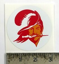 Vintage NFL Buccaneers football logo sticker decal