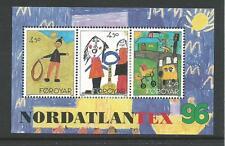 1996 Faroe Islands Nordlantex Mini Sheet Complete  MUH/MNH