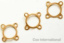 3x   Cox 020 Pee Wee Model Engine Fuel Tank Crankcase Gaskets .020