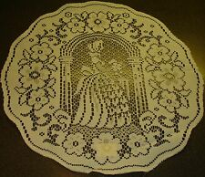 "15"" round lace doilies 9 options only £1.25 each Polyester"