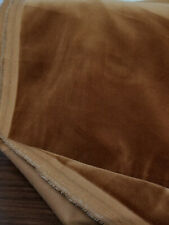 """JB Martin 100% Cotton Velvet Upholstery Fabric by The Yard Color inca Gold, 54"""""""