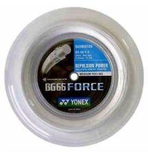 Original Yonex BG66 Force (white) 656ft 200m Reel Badminton String