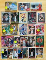 $25 NBA Basketball Card Lot Jersey, Prizm, Optic, RC, Insert, SP, Michael Jordan