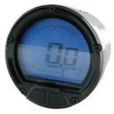 CONTAGIRI 20000 RPM KOSO DL-02R DIGITALE SENSO ORARIO NERO TERMOMETRO MOTO
