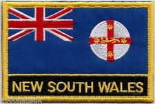 Australia New South Wales State Flag Embroidered Patch Badge - Sew or Iron on