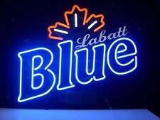"""New Labatt Blue Light Beer Bar Neon Light Sign 17""""x14"""" Fast US Shipping"""