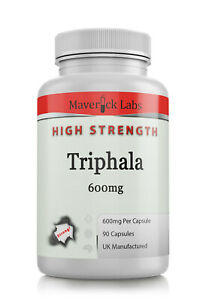 Triphala Capsules *HIGHEST* Quality With Tannins Gallic Acid Not Tablets