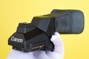 Canon Speed Finder FN nFD Viewfinder for Canon F1 F1n W/ Case, Box and Eyecup