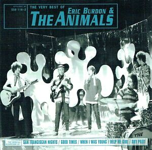 (CD) Eric Burdon & The Animals - The Very Best Of - Sky Pilot, Ring Of Fire,u.a.
