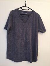 True Religion Herren T-Shirt Gr. XXL dunkelblau mel. V-Ausschnitt neu o. Etikett