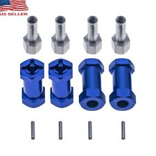12mm Wheel Hub Hex Drive Adaptor 25mm Offset Extension for 1/10 RC Car - Blue