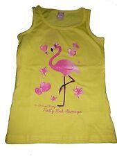 NEU Dopodopo tolles Top Gr. 128 gelb mit Flamingo Motiv !!